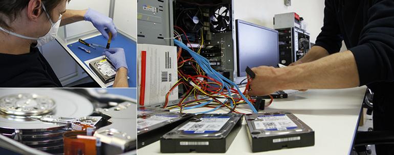 Praca w laboratorium FixData Lab
